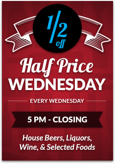 Half Price Wednesday